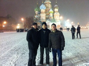 Trio in Red Square - with Keith Hall and Cliff Schmitt