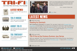 TRI-FI Website Screenshot