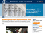 Brooklyn Legal Services website